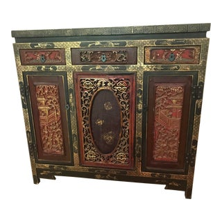 19th Century Antique Chinese Sideboard For Sale