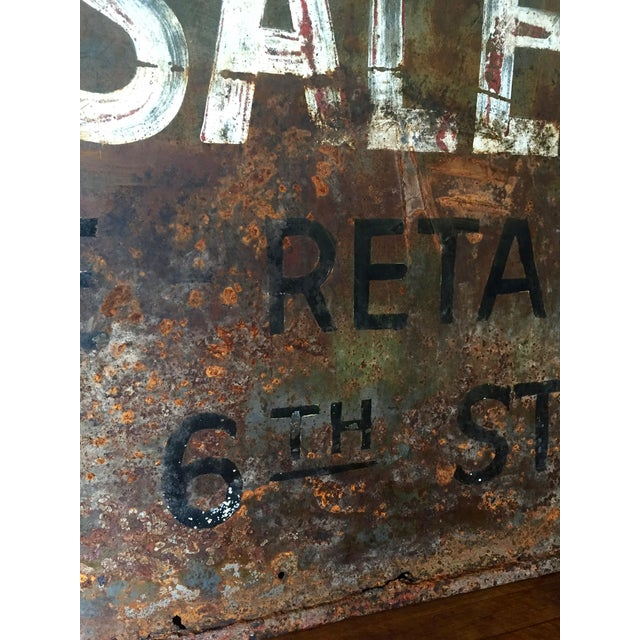 Vintage Auto Trade Sign - Image 6 of 11
