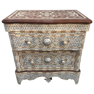 Mother of Pearl Inlay Syrian Dresser For Sale