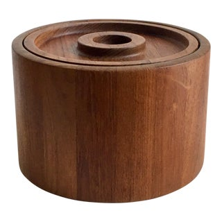 Jens Quistgaard Dansk Teak Ice Bucket For Sale