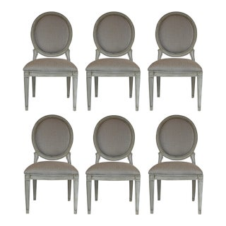 Donghia Style Dining Chairs - Set of 6 For Sale