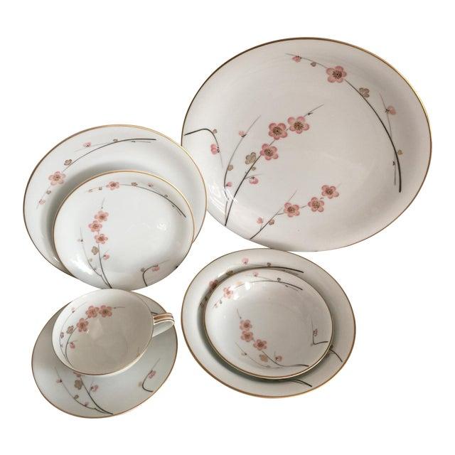 Vintage Noritake Cherry Blossom China Set- 62 Pieces