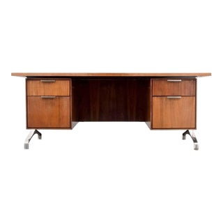 Rosewood Desk From Imperial Desk Company, 1960s, Usa For Sale