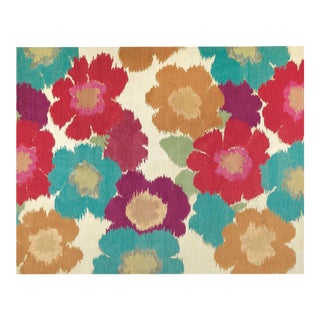 Posies White, 9 x 12 Rug For Sale
