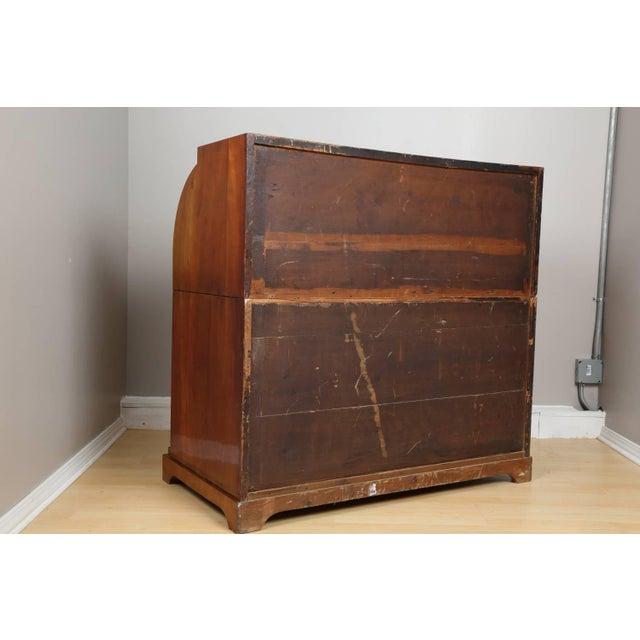 Orange Biedermeier Mahogany Root Secretaire, Circa 1820 For Sale - Image 8 of 10
