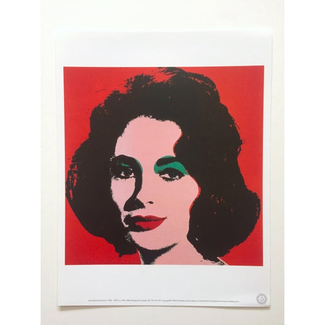 "Blue Andy Warhol Estate Rare Vintage 1989 "" Familiar Faces "" Portfolio Collector's Pop Art Lithograph Prints - Set of 6 For Sale - Image 8 of 13"