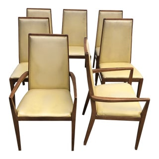 Vintage Foster McDavid Mid Century Dining Chairs- Set of 7 For Sale