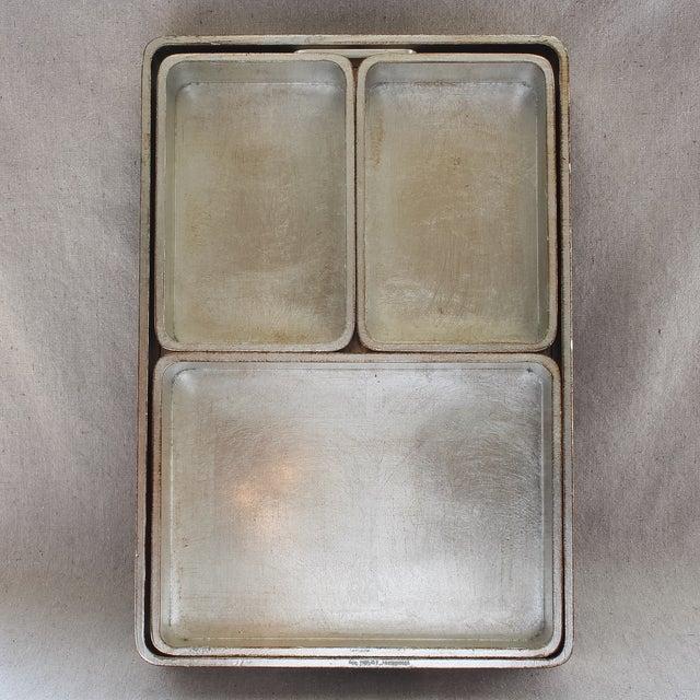 4-Piece Florentine Silver-Gilt Nesting Trays - Image 9 of 11