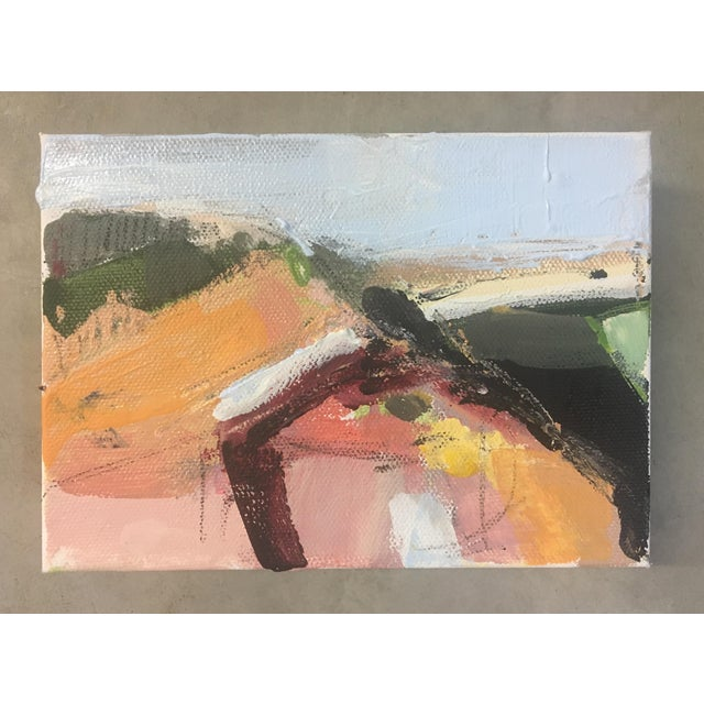 This piece is from my landscape series which is a progression into a more subtle color palette; created by pulling from...