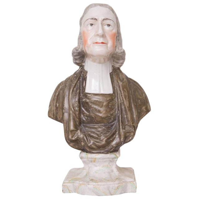19th Century Porcelain Figure of John Wesley - Image 1 of 5