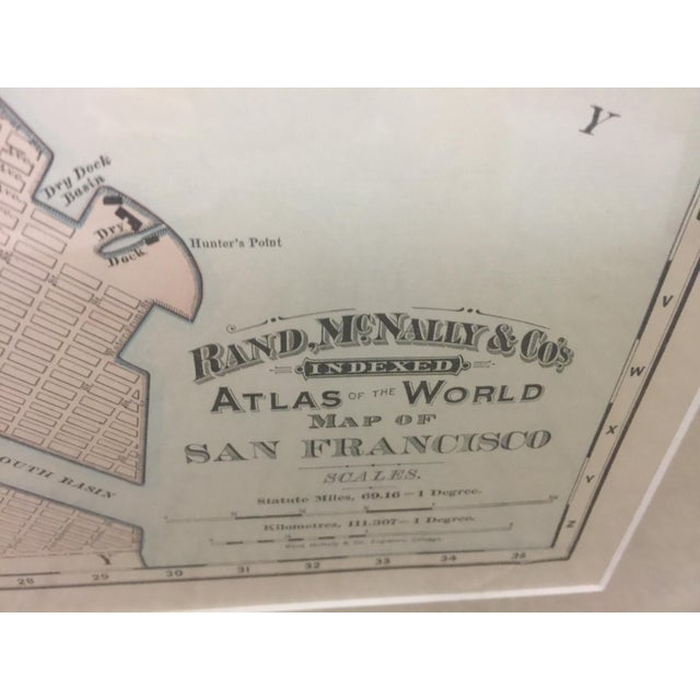 1891 Rand McNally & Co Map of San Francisco For Sale - Image 4 of 6