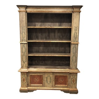 French Country Bookcase For Sale