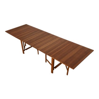 Iconic Super Expanding 'Maria Flap' Table in Teak by Bruno Mathsson, Sweden For Sale