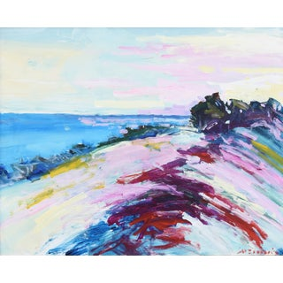 Carmel by the Sea, California Original Juan Guzman Impressionist Painting Preview