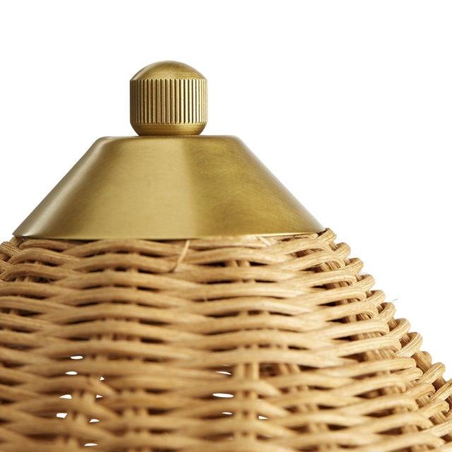 Arteriors Home Celerie Kemble for Arteriors Parasol Lamp For Sale - Image 4 of 6