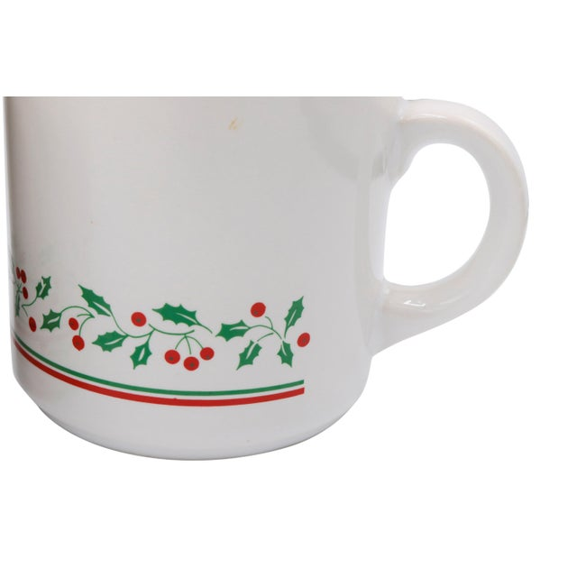 1980s Arby's 1987 Christmas Cups - Set of 4 For Sale - Image 5 of 7