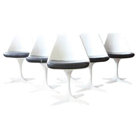Burke Dining Chairs - Set of 6 - Image 1 of 4