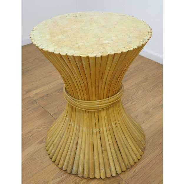 McGuire Rattan Table Bases - Set of 2 - Image 4 of 4