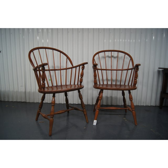 Vintage Windsor Chairs - A Pair - Image 2 of 3