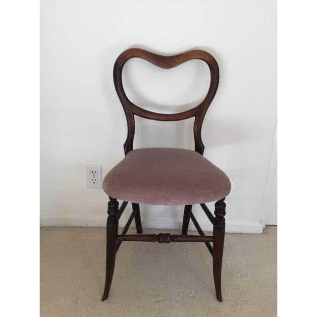 Pair of 19th Century Victorian Walnut Chairs For Sale - Image 10 of 11