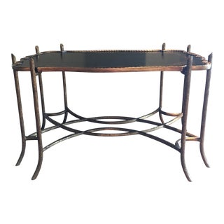 Chinoiserie Style Coffee Table For Sale