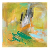 """Image of """"Sun Shower"""" by Trixie Pitts Abstract Expressionist Oil Painting For Sale"""