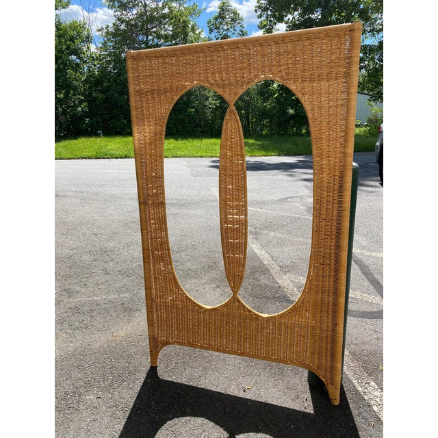 Architectural Rattan Canopy For Sale In Philadelphia - Image 6 of 13