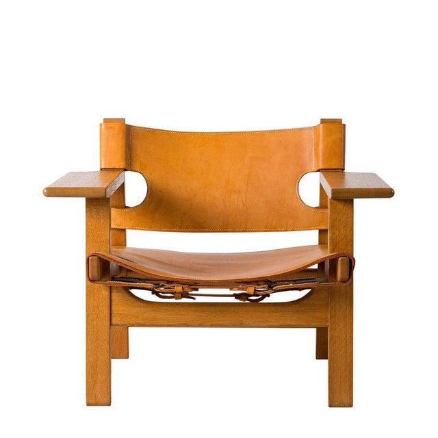 "Børge Mogensen ""Spanish"" Chair - Image 2 of 10"