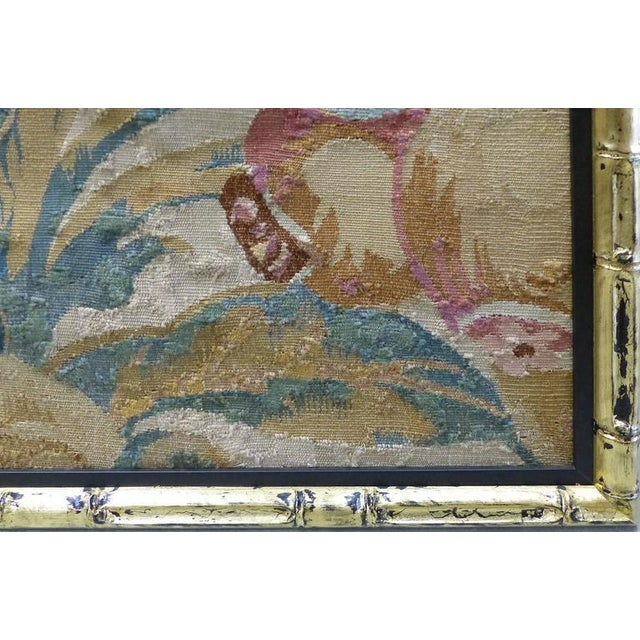 Late 18th Century 18th Century Floral Aubusson Panels, Set of Three For Sale - Image 5 of 11