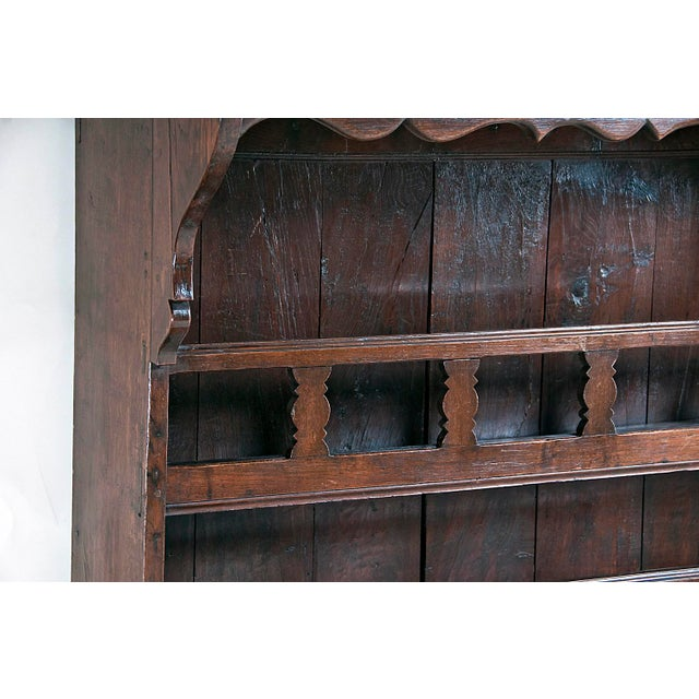 Late 19th Century Large French Three Part Oak Cabinet For Sale In San Francisco - Image 6 of 8
