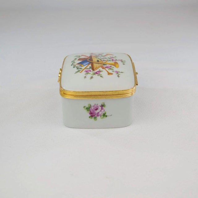 1980s Atelier LeTallec Porcelain Box For Sale - Image 5 of 10