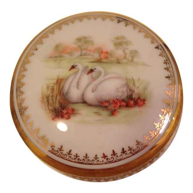 Vintage Swan Box - Image 1 of 6