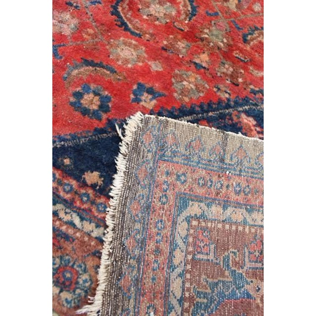 "Vintage Persian Rug - 4'11"" x 6'4"" - Image 10 of 10"