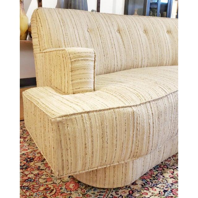 1960s Mid-Century Modern Harvey Probber Custom Curved Sofa For Sale - Image 5 of 9