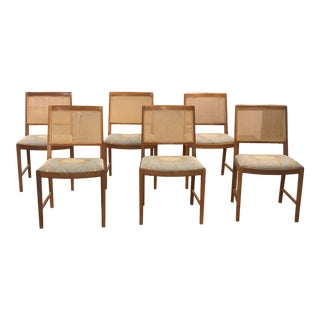 Swedish Mid Century Bodafors Dining Chairs - Set of 7 For Sale