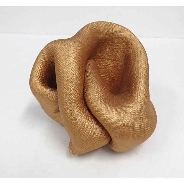 2019 Sinuosity Mini Sculpture in Metallic Copper For Sale - Image 10 of 10