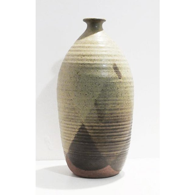 Ceramic Pottery With Triangular Pattern For Sale - Image 4 of 7