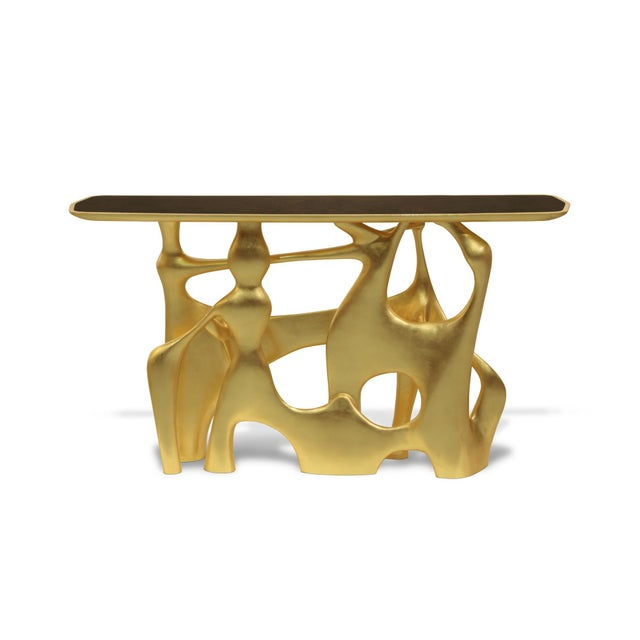 Wood Console Bastei From Covet Paris For Sale - Image 7 of 7