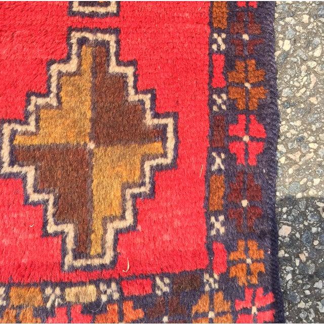 "Baluchi Hand Made Persian Rug - 2'6""x4'2"" - Image 4 of 7"