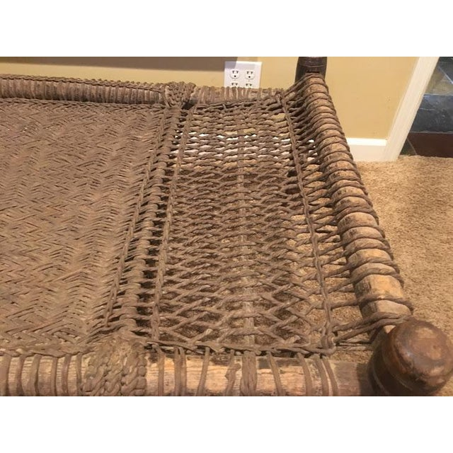 Early 20th Century Indian Charpoy Bed For Sale - Image 5 of 6