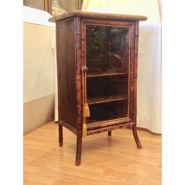 19th Century English Bamboo Cabinet For Sale - Image 13 of 13