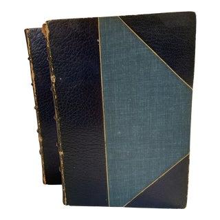 1902 The Romance of Leonardo Da Vinci Books - Set of 2 For Sale