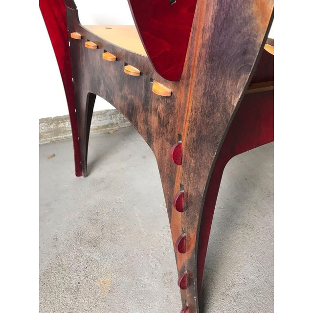 Modern Puzzle Chair by David Kawecki For Sale - Image 9 of 11