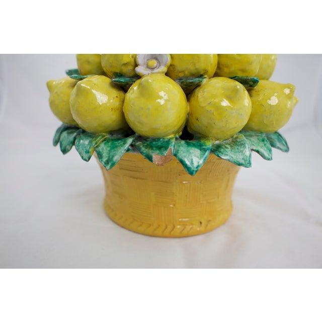 1960s Italian Terracotta Lemon Topiary For Sale - Image 5 of 9