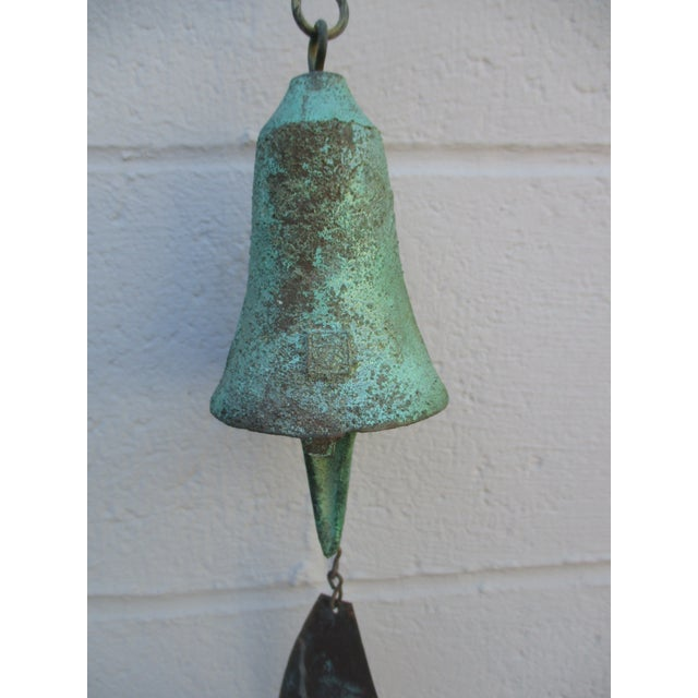 Paolo Soleri Modernist Bronze Wind Bell - Image 10 of 11