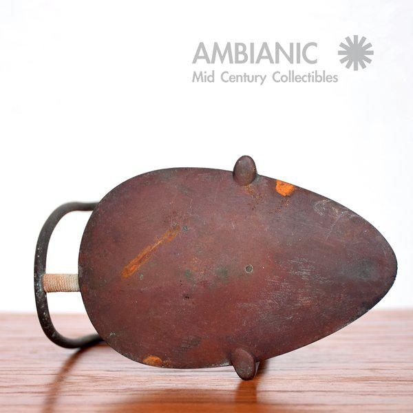 Bronze Mid-Century Bronze Candle Holder For Sale - Image 7 of 8