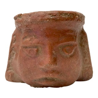 Oaxaca Mexico Red Clay Pot For Sale