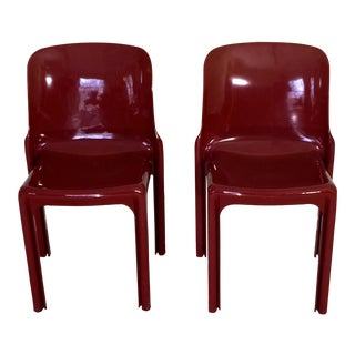 Vico Magistretti Selene Chairs by Artemide - A Pair
