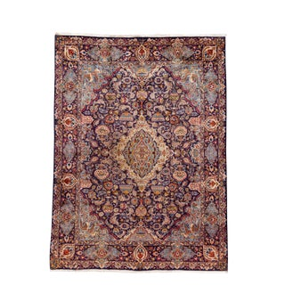 "Vintage Historic Persian Rug, 9'7"" X 13'0"" For Sale"