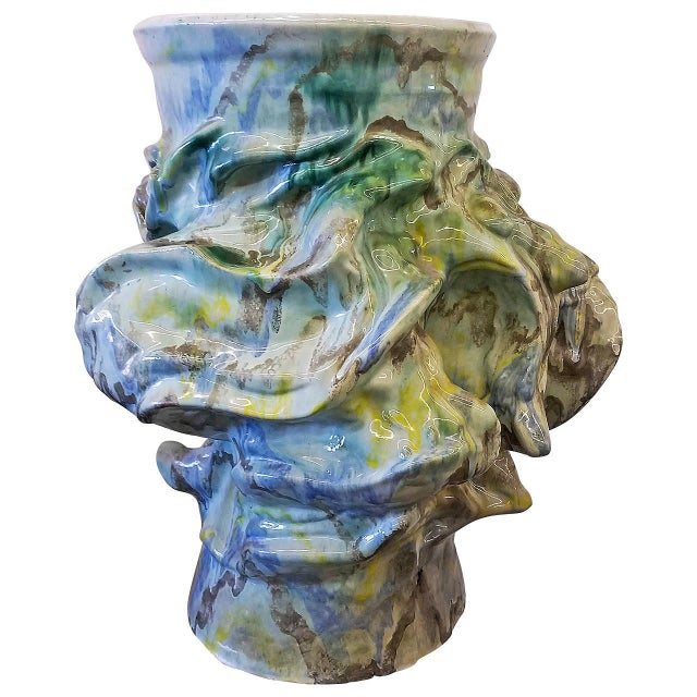 1960s Monumental Early Elena Karina Vessel For Sale - Image 11 of 11